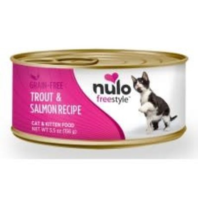Nulo Nulo Cat Trout & Salmon 5.5oz