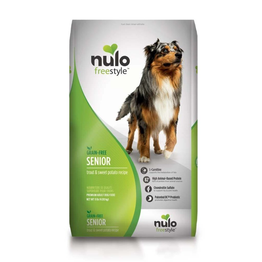 Nulo Nulo Dog Senior Trout & Sweet Potato 11#