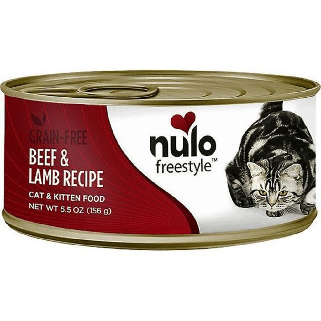 Nulo NUL CAN CT G/F BEEF/LMB 5.5OZ