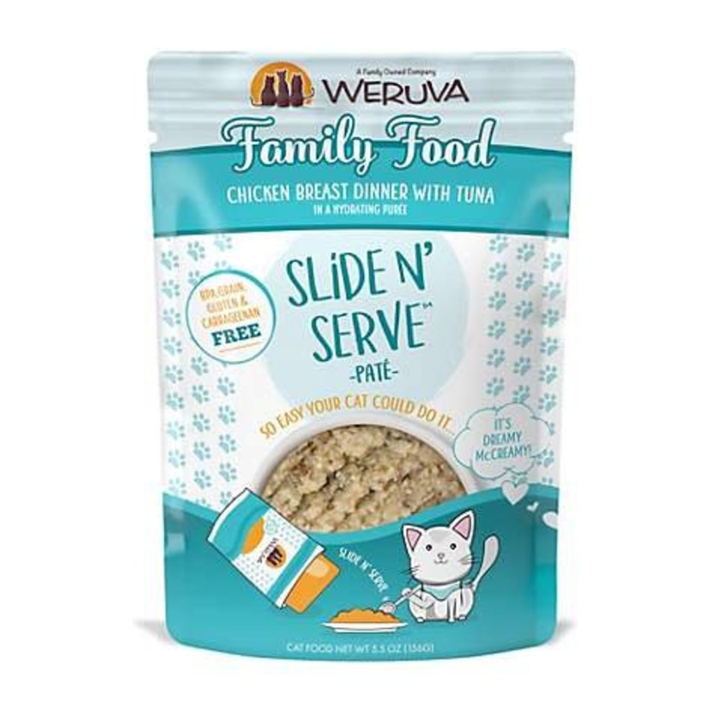 WERUVA Weruva Cat Family Food 2.8oz Pouch (Slide & Serve)