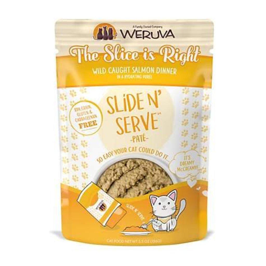 WERUVA Weruva Cat The Slice Is Right 2.8oz Pouch (Slide & Serve)