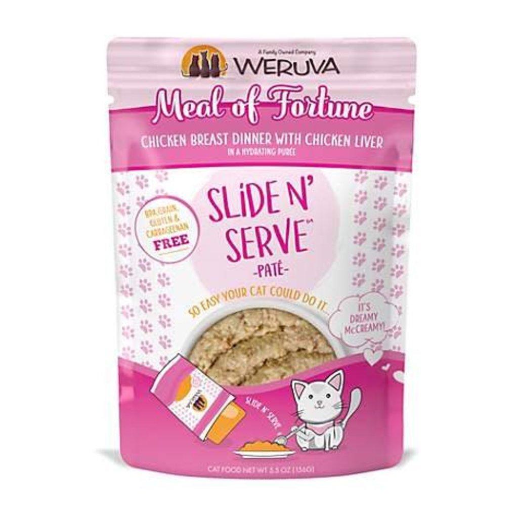 WERUVA Weruva Cat Meal of Fortune 2.8oz Pouch (Slide & Serve)