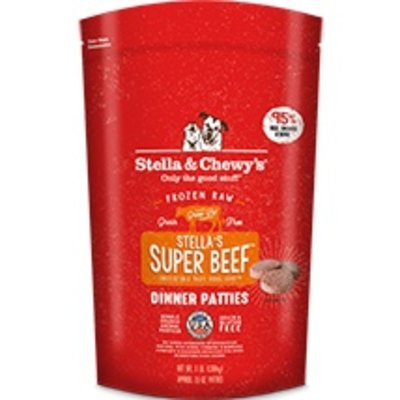 Stella and Chewys STELLAD FROZEN BEEF 3#