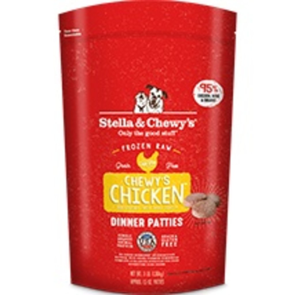 Stella and Chewys STELLAD FROZEN CHICKEN 3#