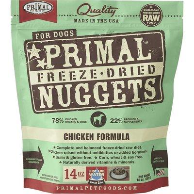 Primal Primal Dog FD Chicken Nuggets 14oz