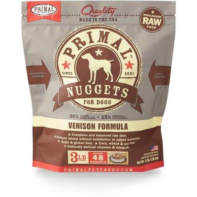 Primal Primal Dog Venison Nuggets 3#