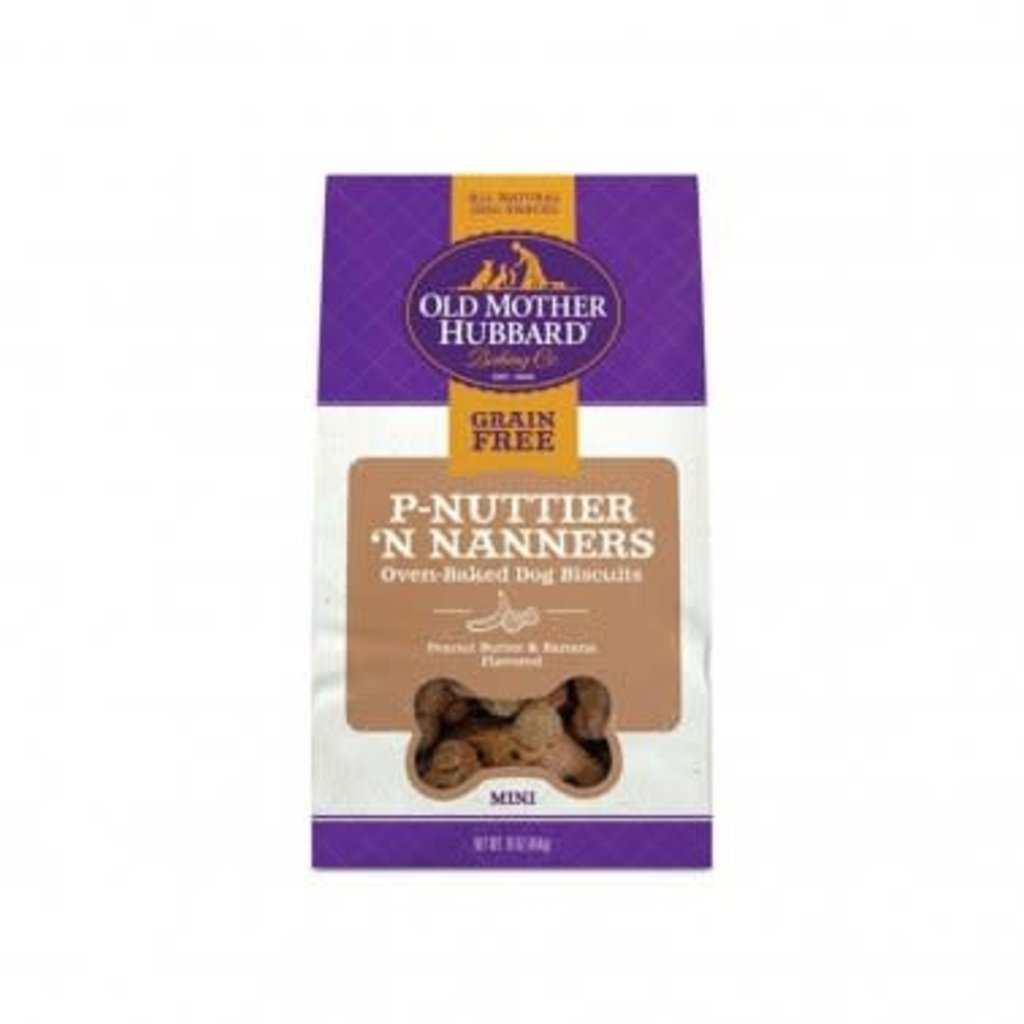 OLD MOTHER HUBBARD Old Mother Hubbard GF P-Nuttier 'N Nanners 16oz