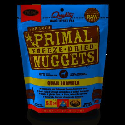 Primal Primal Dog FD Quail Nuggets 5.5oz