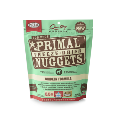 Primal Primal Dog FD Chicken Nuggets 5.5oz