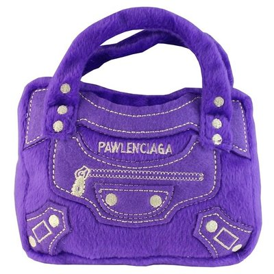 Haute Diggity Dog pawlenciaga purse