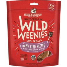 Stella and Chewys Stella & Chewy's Game Bird Wild Weenies 3.25oz