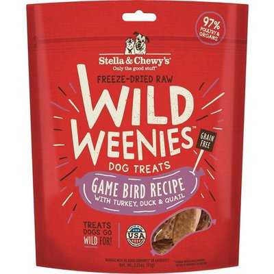 Stella and Chewys Stella & Chewy's Game Bird Wild Weenies 3.25oz
