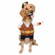 Pet Krewe Pirate Costume L
