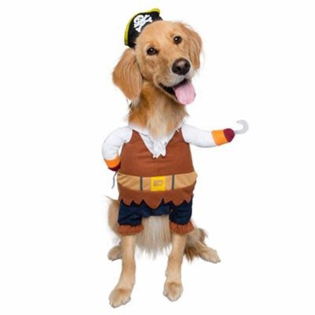Pet Krewe Pirate Costume XL