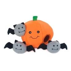 Zippy Paws Burrow Halloween Pumpkin W/ Bats