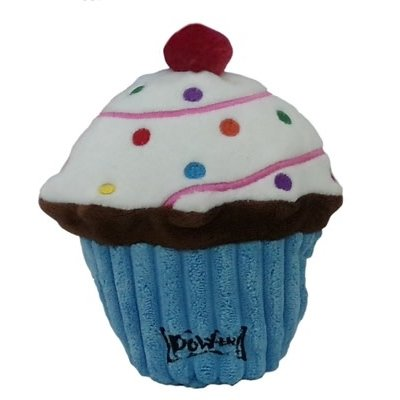 POWER PLUSH BLUE PUPCAKE LG