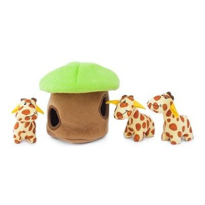 Zippy Paws Giraffe Burrow Toy