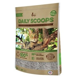 Daily Scoops Cat Love Daily Scoops - Recycled Paper Litter - 25 lb