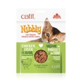 CATIT Catit Nibbly Cat Treats - Chicken & Liver Flavour - 90 g (3.2 oz)