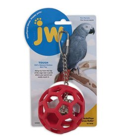 JW PET COMPANY JW HOL EE ROLLER RUBBER PARROT TOY