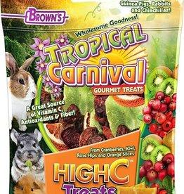 FM BROWNS 2.25 OZ. TROPICAL CARNIVAL HIGH C SMALL ANIMAL TREATS