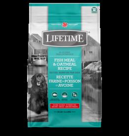 Lifetime LIFETIME DOG FISH Meal & Oatmeal  11.4kg