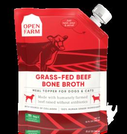 Open Farm OPEN FARM BONE BROTH BEEF 12 OZ 6/CS