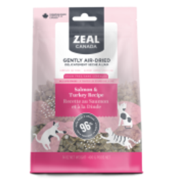 Zeal Zeal CND Cat GF Air-Dried Salmon & Turkey 400 g