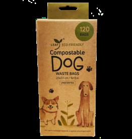 Leaf Leaf Compostable Dog Waste Bags 120 Unscented Bags