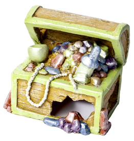 GloFish 29057 GloFish Ornament Treasure Chest Small