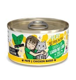 Weruva BFF Play Pate Chicken & Lamb Laugh Out Loud 2.8 oz