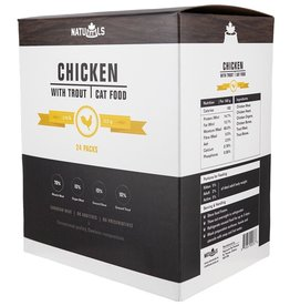 Naturawls Raw Chicken & Trout 24/113GM Cat