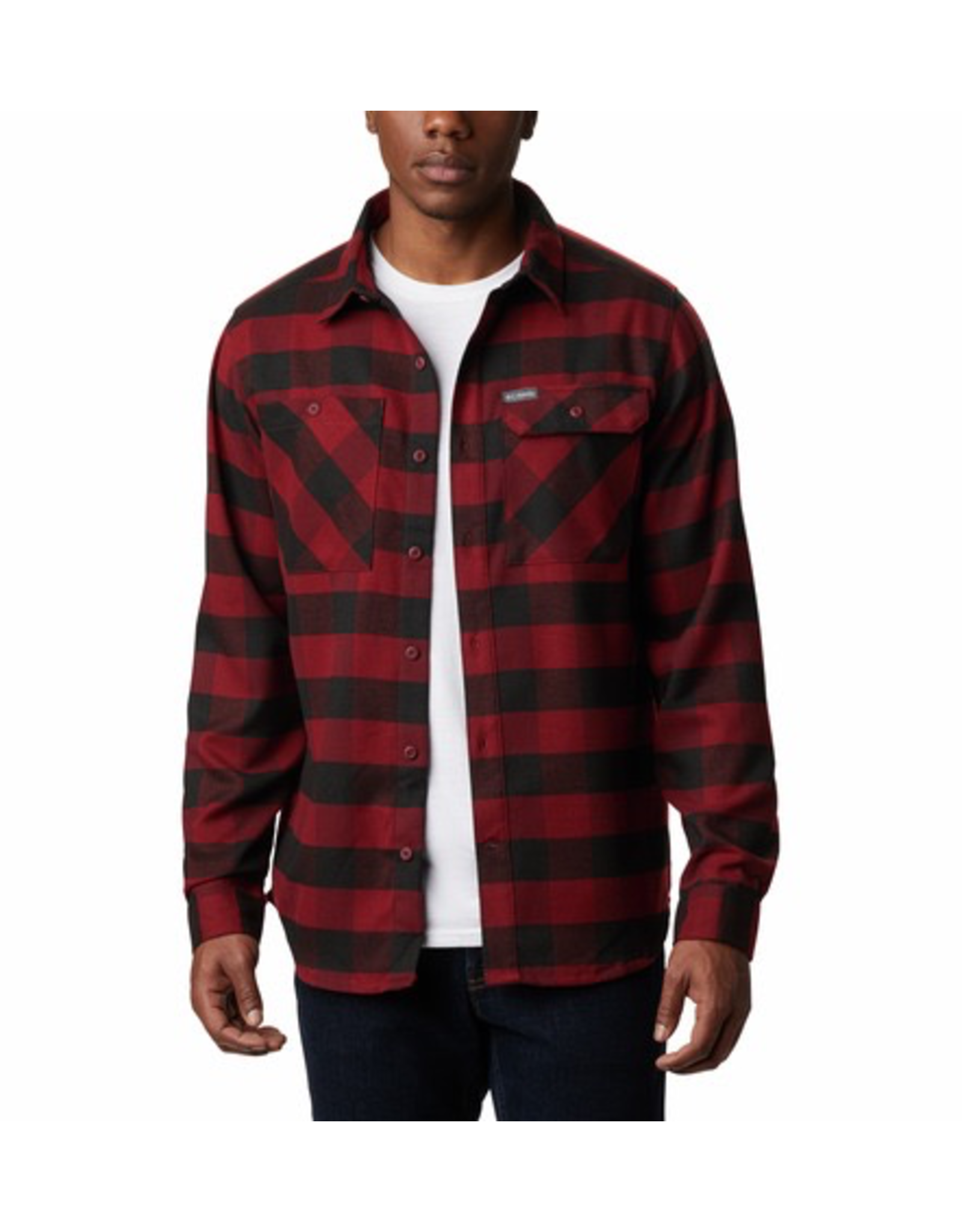 Columbia Columbia Men's Outdoor Elements Stretch Flannel Shirt