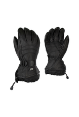 GKS GKS Mens Deerskin Glove with Detatchable Fleece and Wrist Strap