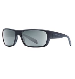 Native Eyewear Native Sunglasses Eddyline, Frame Matte Black, Lens N3 Gray