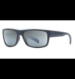 Native Eyewear Native Sunglasses Ashdown, Frame Grantie, Lens Silver Reflex