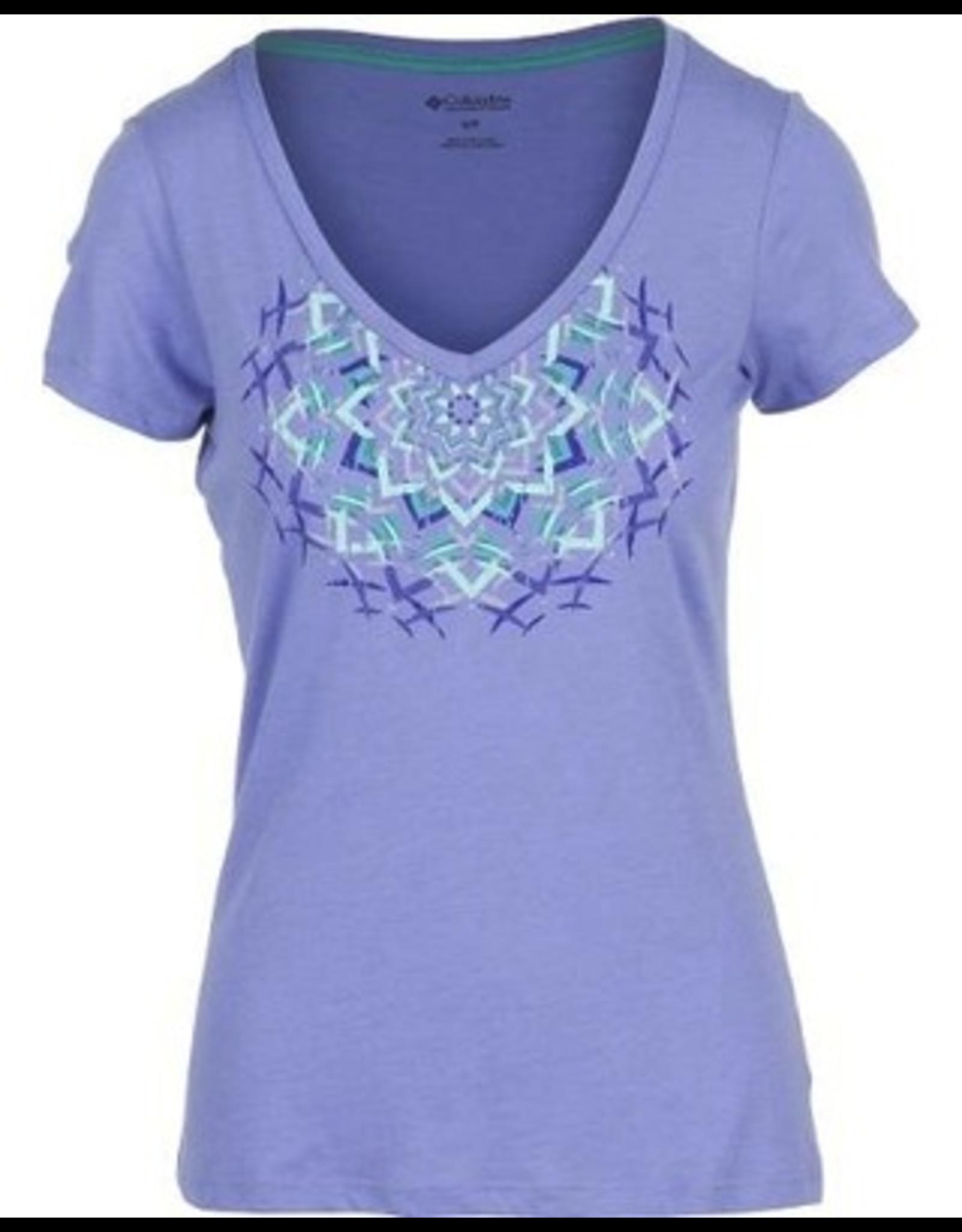 Columbia Columbia Womens Kaleidoscope Short Sleeved Shirt