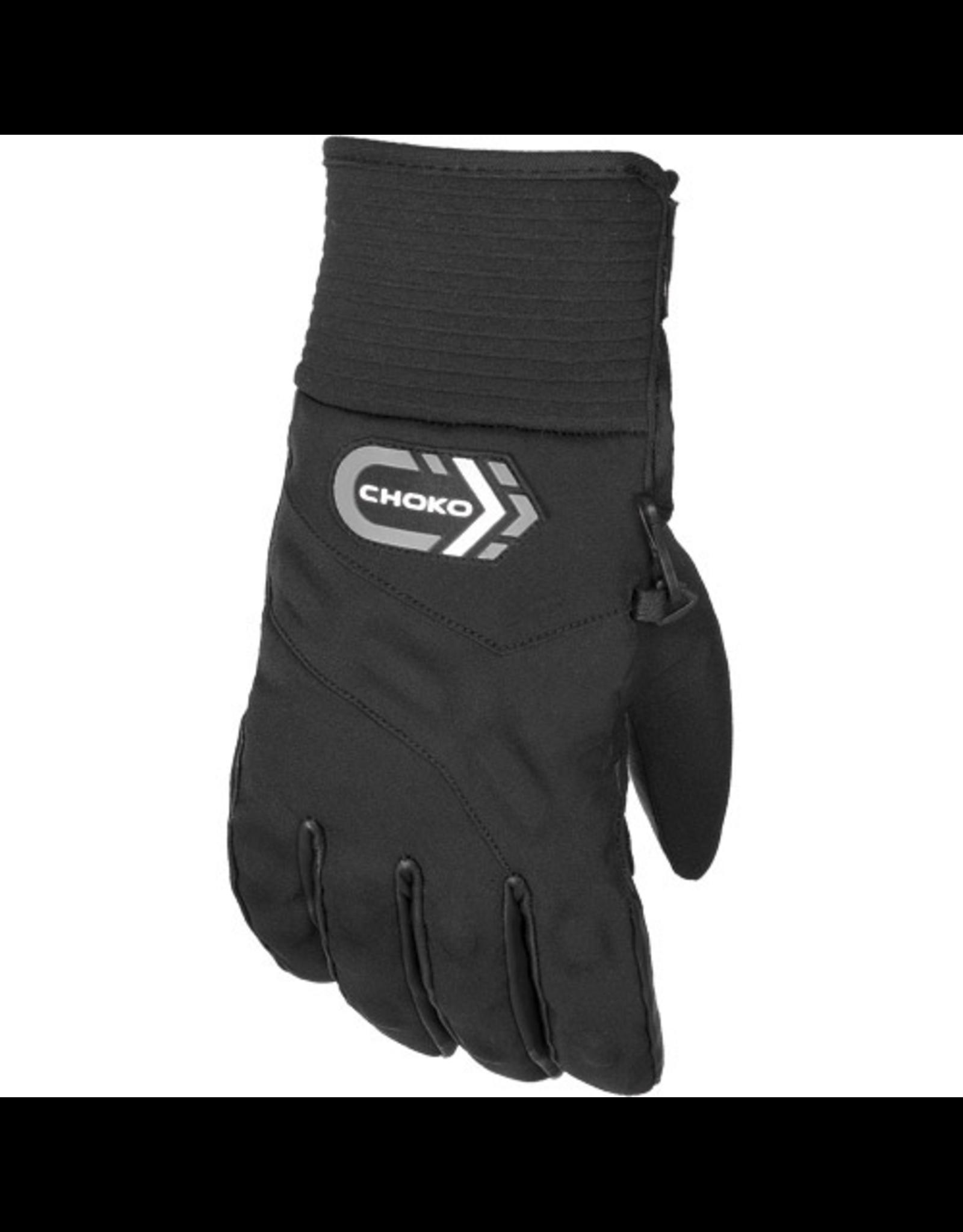 Choko Choko Mountain Leather/ Nylon Gloves