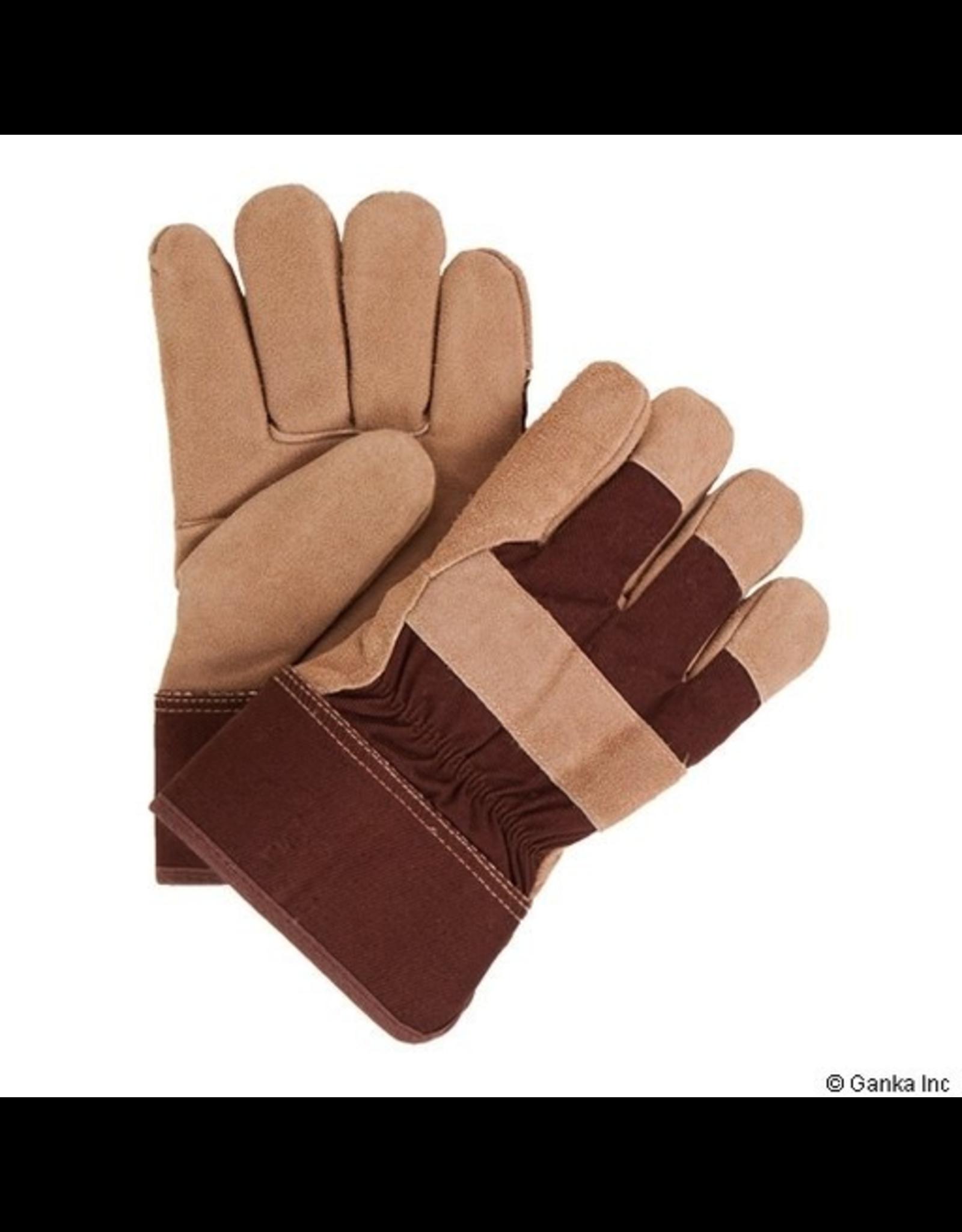 GKS GKS Cowsplit Boa PVC/Solid Rubber Work Glove