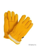 GKS GKS Mens Deerskin Leather Glove with Boal Liner