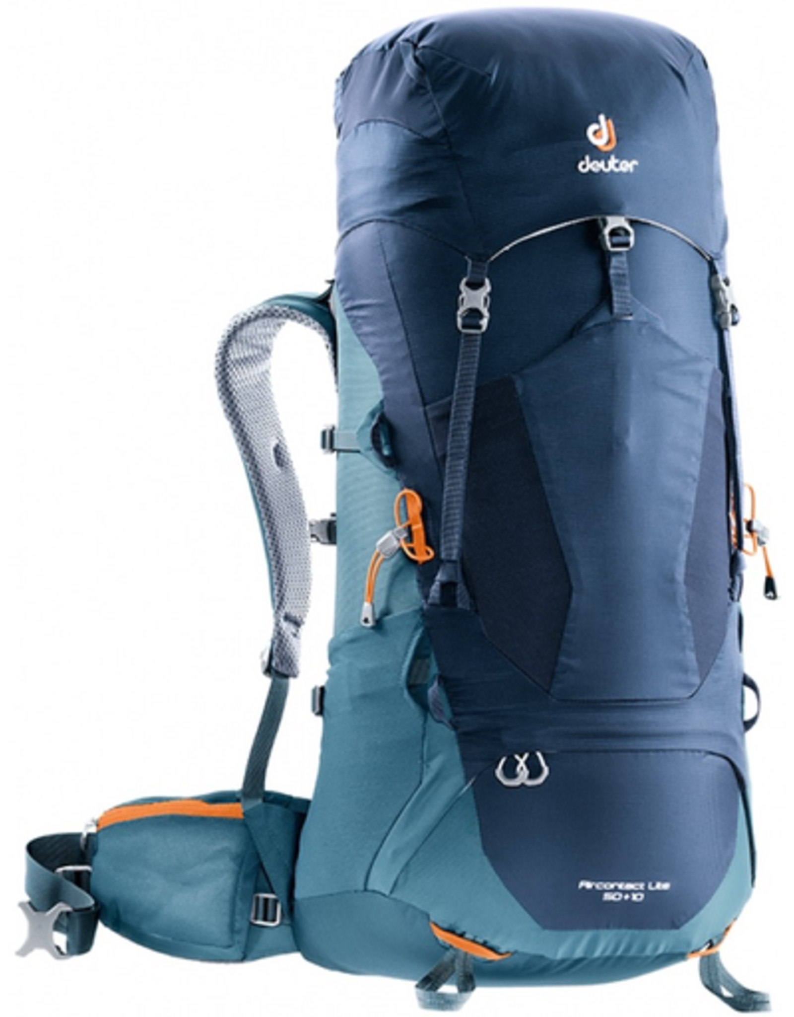 Deuter Deuter Aircontact Lite 50+10 Backpack, Navy-Arctic