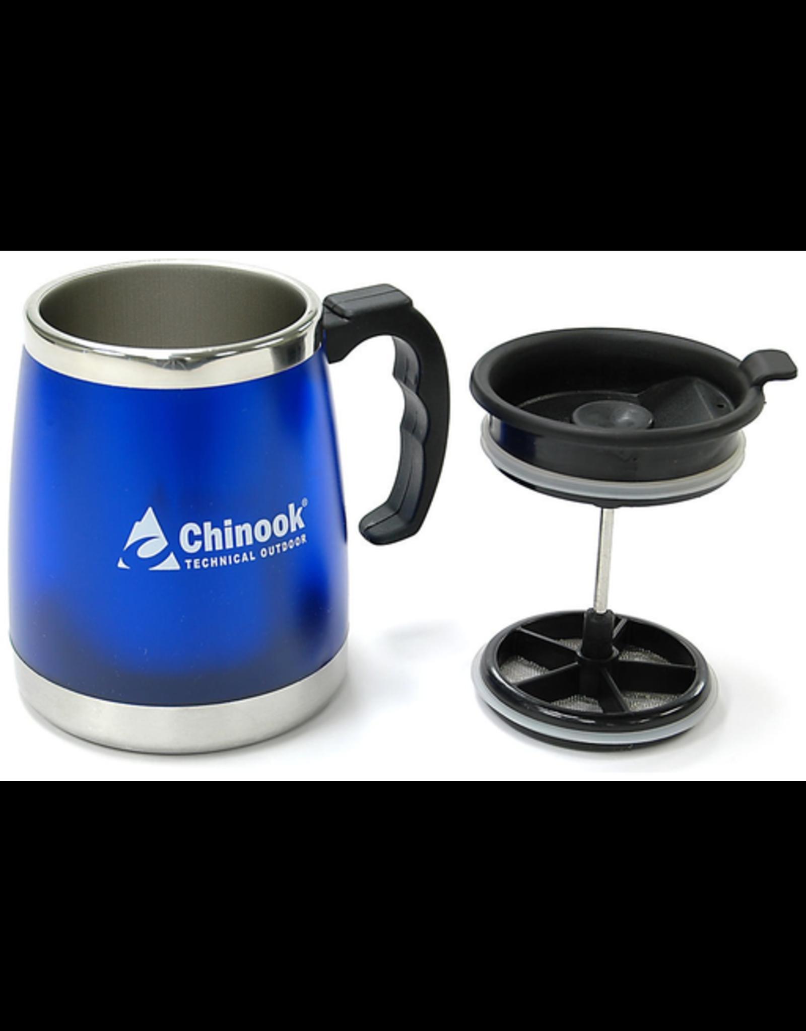 Chinook Chinook COFFEE PRESS MUG 16