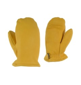 GKS GKS Children's Deerskin Leather Mitt