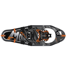 GV Snowshoes GV Mens Snowshoes Mountain Trail Alligator 10x36 Black/Grey/Orange