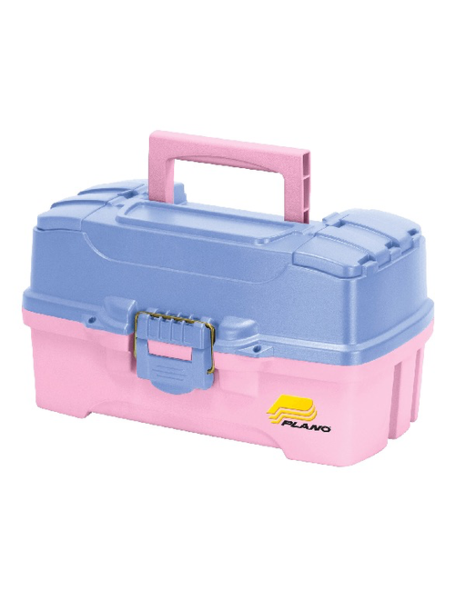 Plano Plano 2 Tray Pink / Periwinkle Tackle Box 14.25 in L X 8.5 in W X 7.75 in H