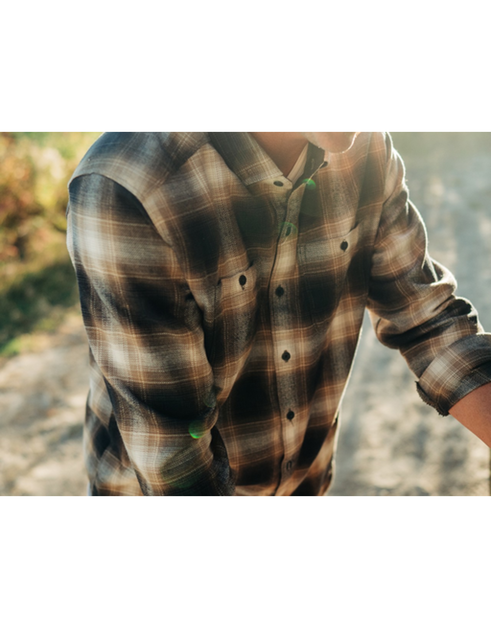 Kuhl Kukl Mens Law Flannel Long Sleeve
