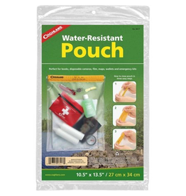 """Coghlan's Coghlan's Water Resistant Pouch 10.5"""" X 13.5"""""""
