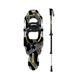 GKS GKS Norfin Unisex Snowshoes/ Pole Kit ( 250 lbs+)