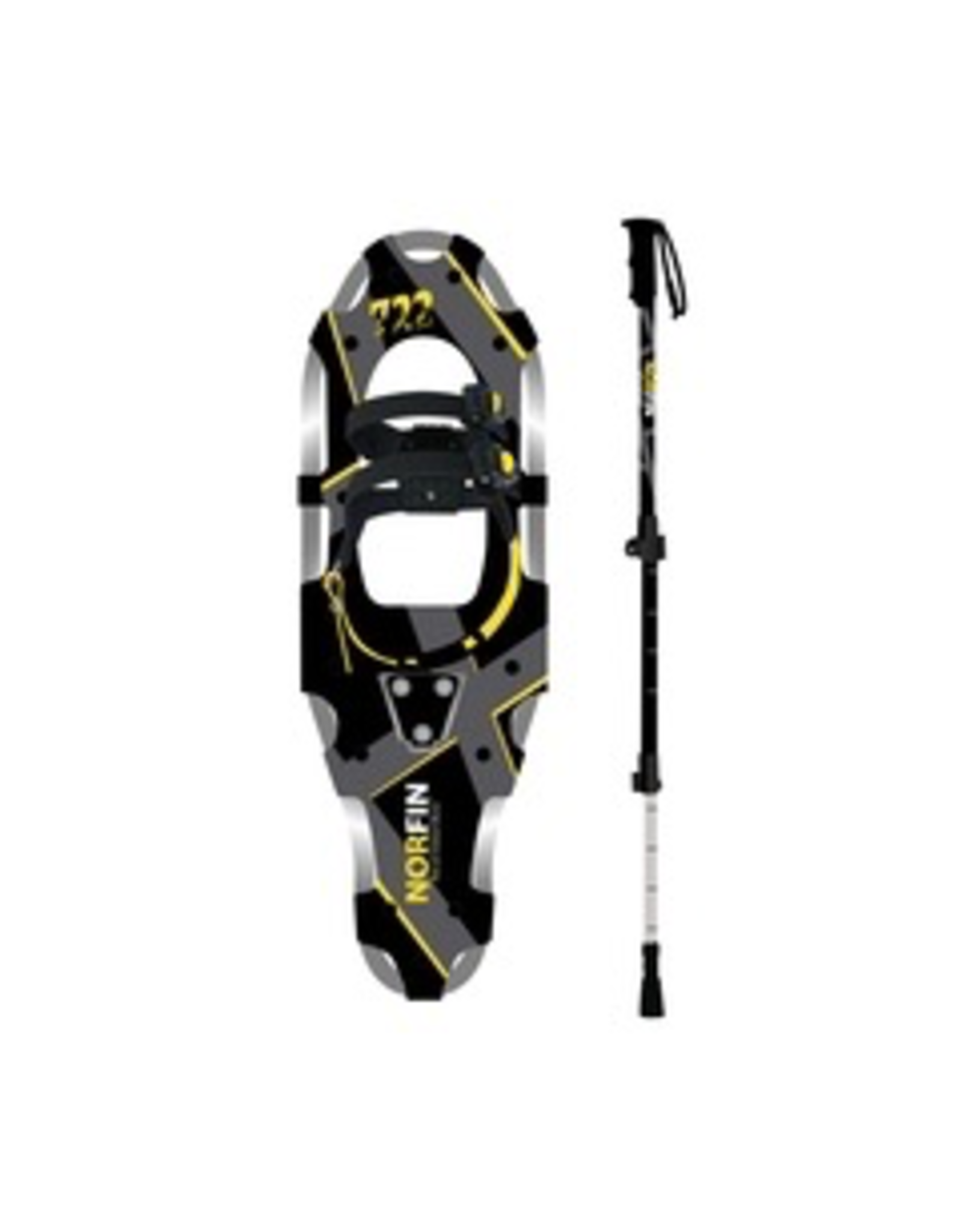 GKS GKS Norfin Unisex Snowshoes / Pole Kit (100-175 lbs)