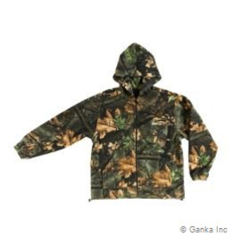 GKS GKS Mens Fleece Hunting Jacket with Hood